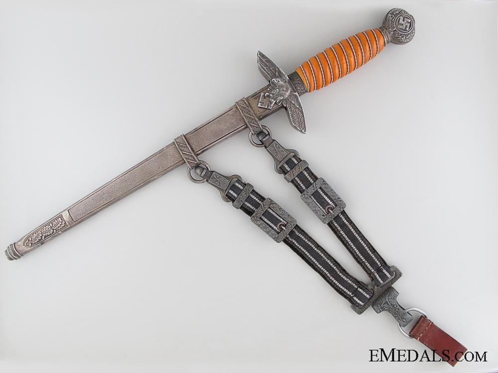 eMedals-2nd Model Luftwaffe Dagger by Ernst Pack & Söhne