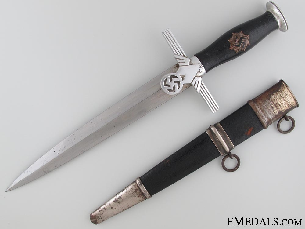 eMedals-2nd Model RLB Officer's Dagger by Erich Witte