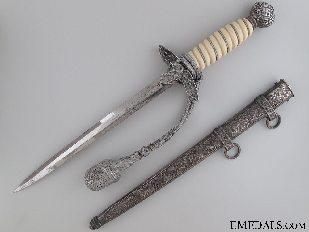 eMedals-2nd Pattern Luftwaffe Dagger by E.Pack and Sohne