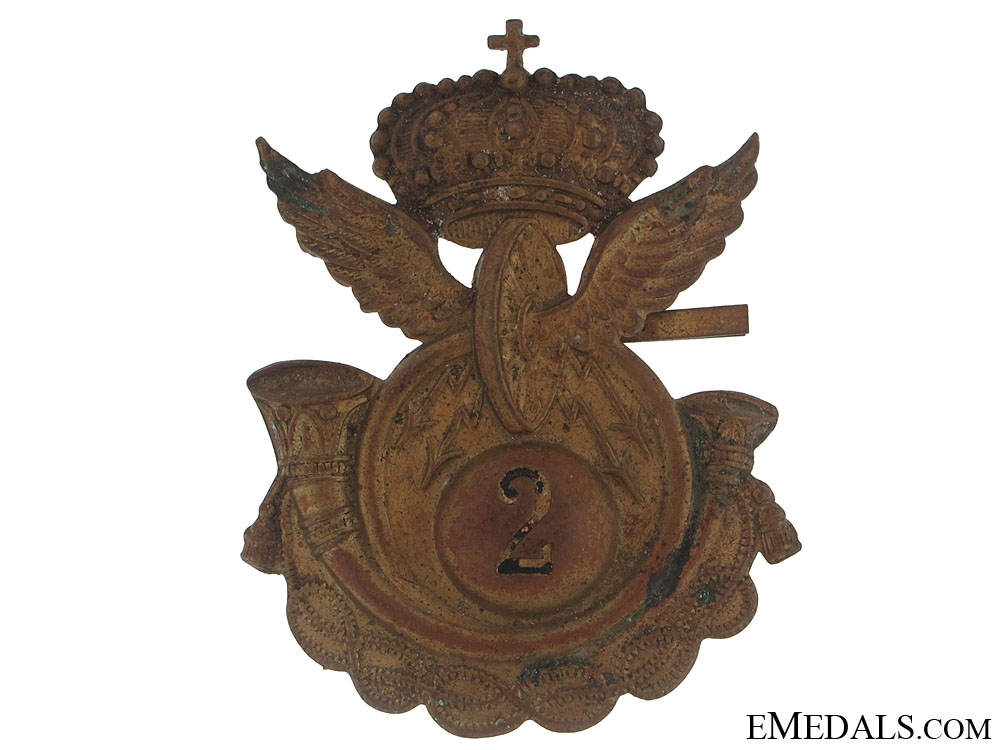 eMedals-2nd Royal Motor Transport Pith Helmet Badge