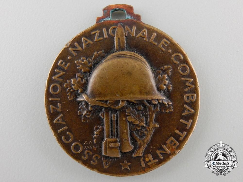 eMedals-An 1938 Italian Twentieth Anniversary Combatants  Meeting Medal