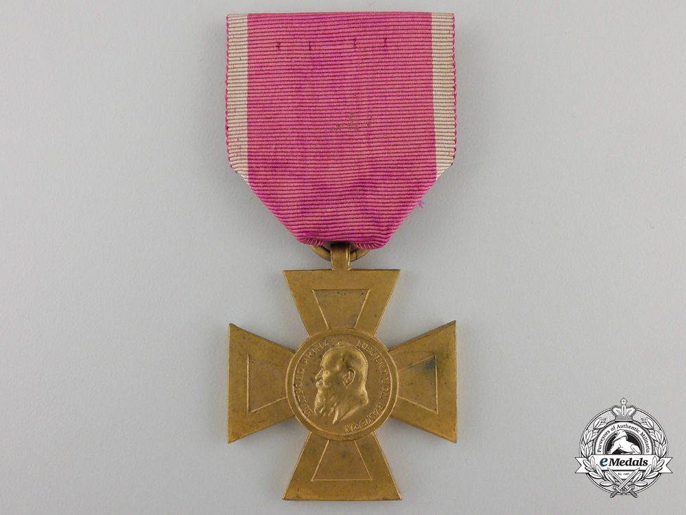 eMedals-A Bavarian Luitpold Cross for Forty Years' State Service