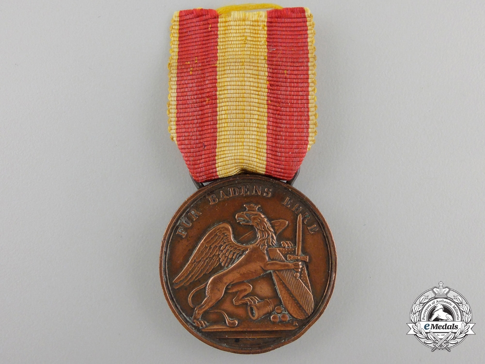 eMedals-A Baden Army Field Service Decoration
