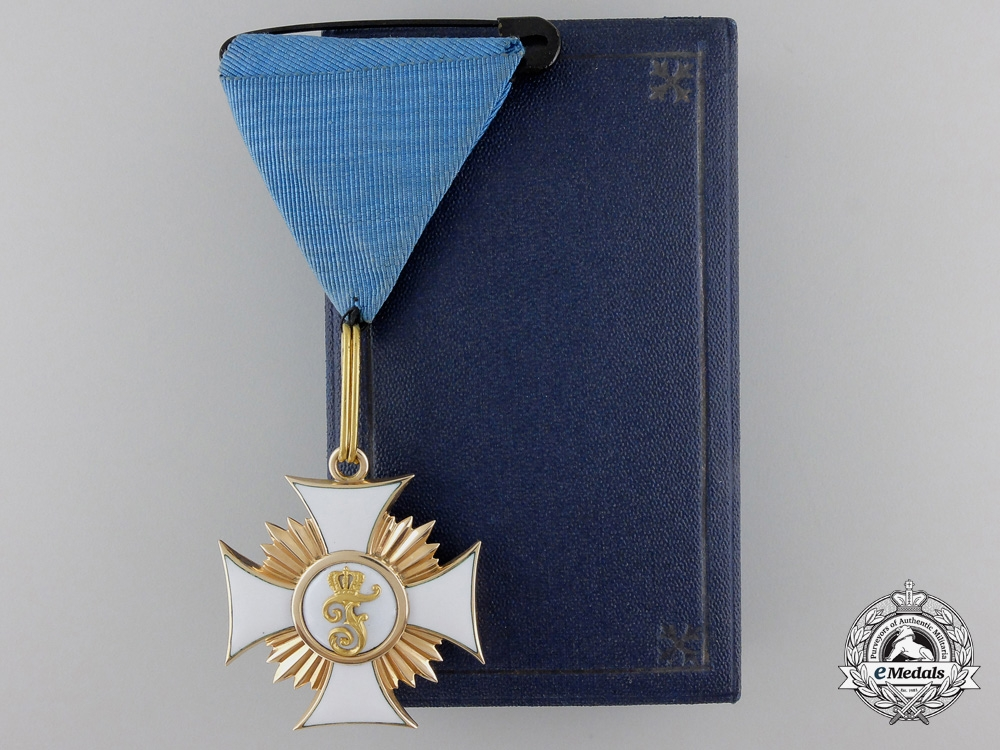 eMedals-A Wurttemberg Order of Friedrich in Gold; Knight First Class, 1856-1918;