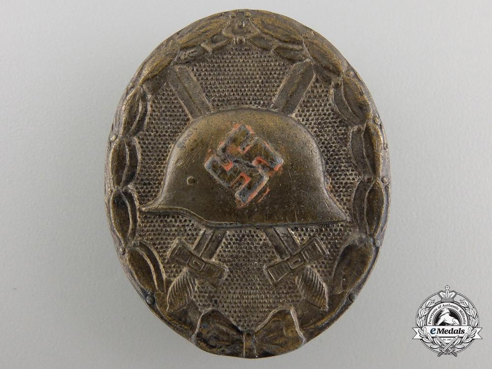 eMedals-A Silver Grade Wound Badge byRudolf Wachtler & Lange