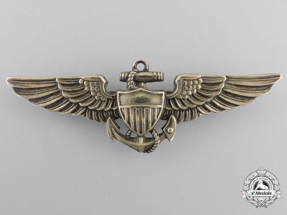eMedals-A Second War American Naval Pilot Wing