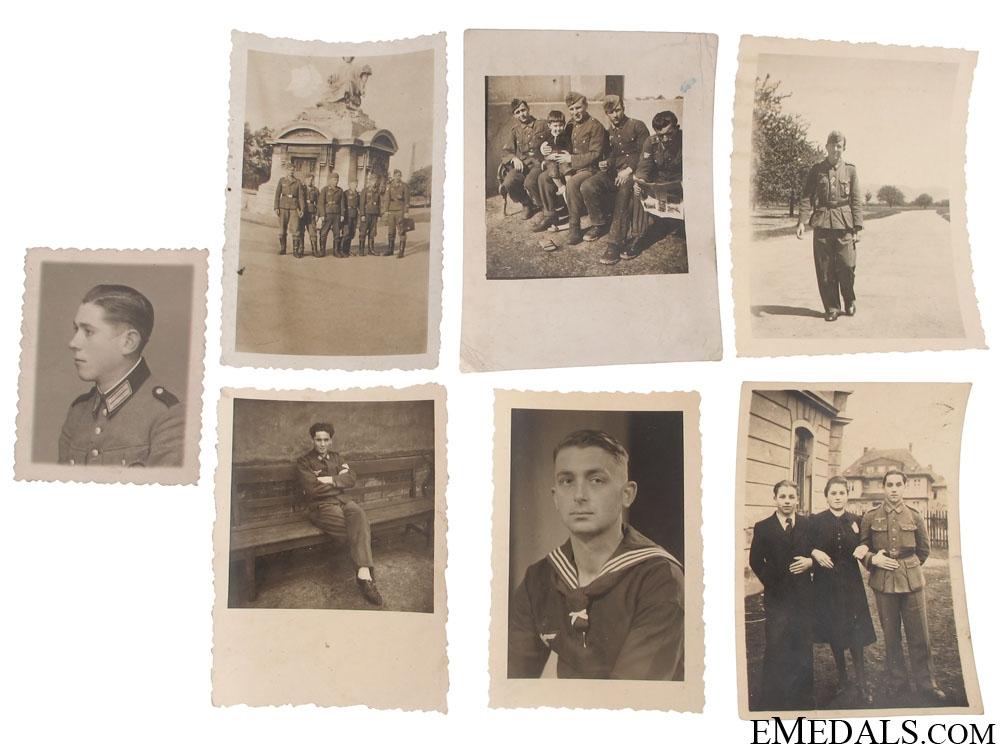 eMedals-7 Photos, Croatian Legionaries (in German uniforms)