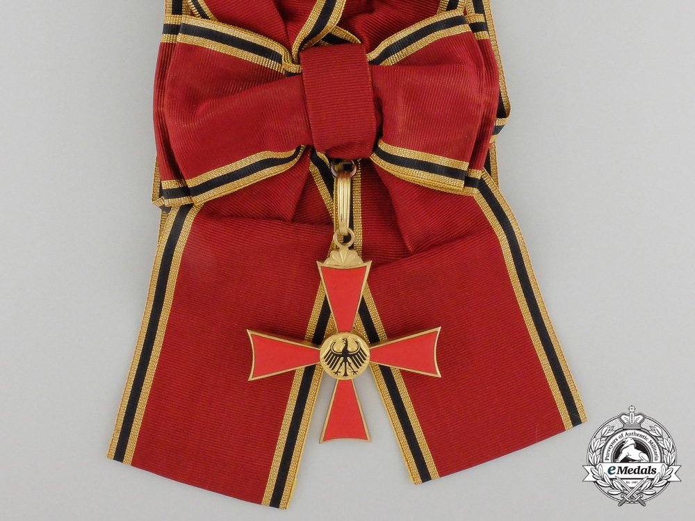 eMedals-A German Federal Republic Order of Merit; Ladies Grand Cross