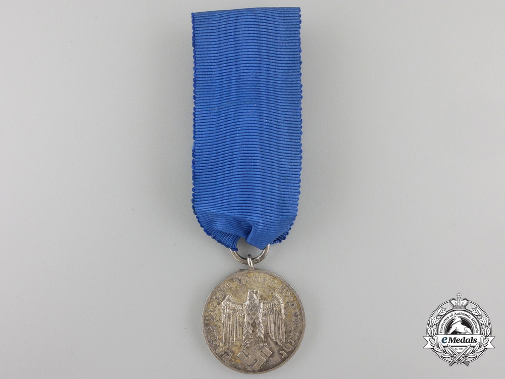 eMedals-A Wehrmacht Long Service Medal; 4th Class