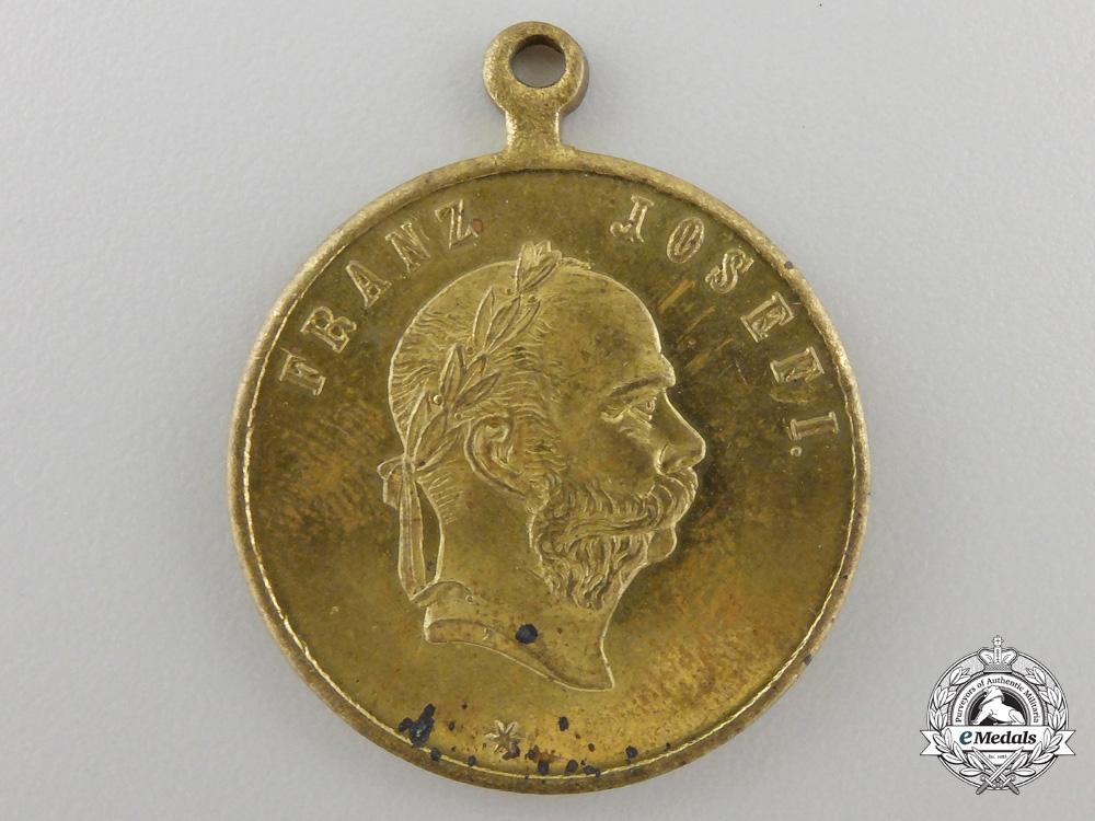 eMedals-An 1891Austrian Naval Maneuvers in Dalmatia Medal