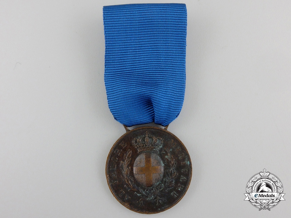 eMedals-A Second War ItalianAl Valore Militaire for Tirreno 1943