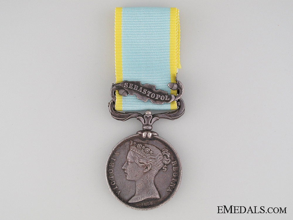 eMedals-1854 Crimea Medal to the Royal Engineers