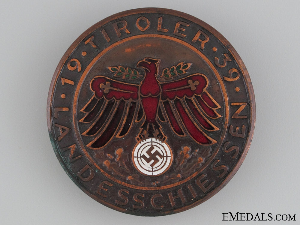 """eMedals-1939 """"Tiroler"""" Shooting Award"""