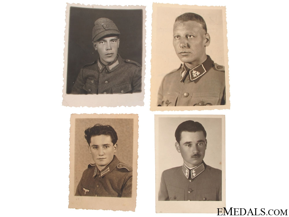 eMedals-4 Photos of Croatian Soldiers WWII