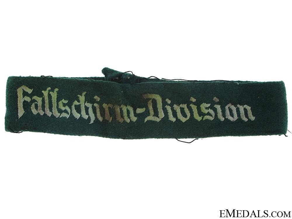"eMedals-""¢�Fallschirm-Division""¢� Cufftitle"