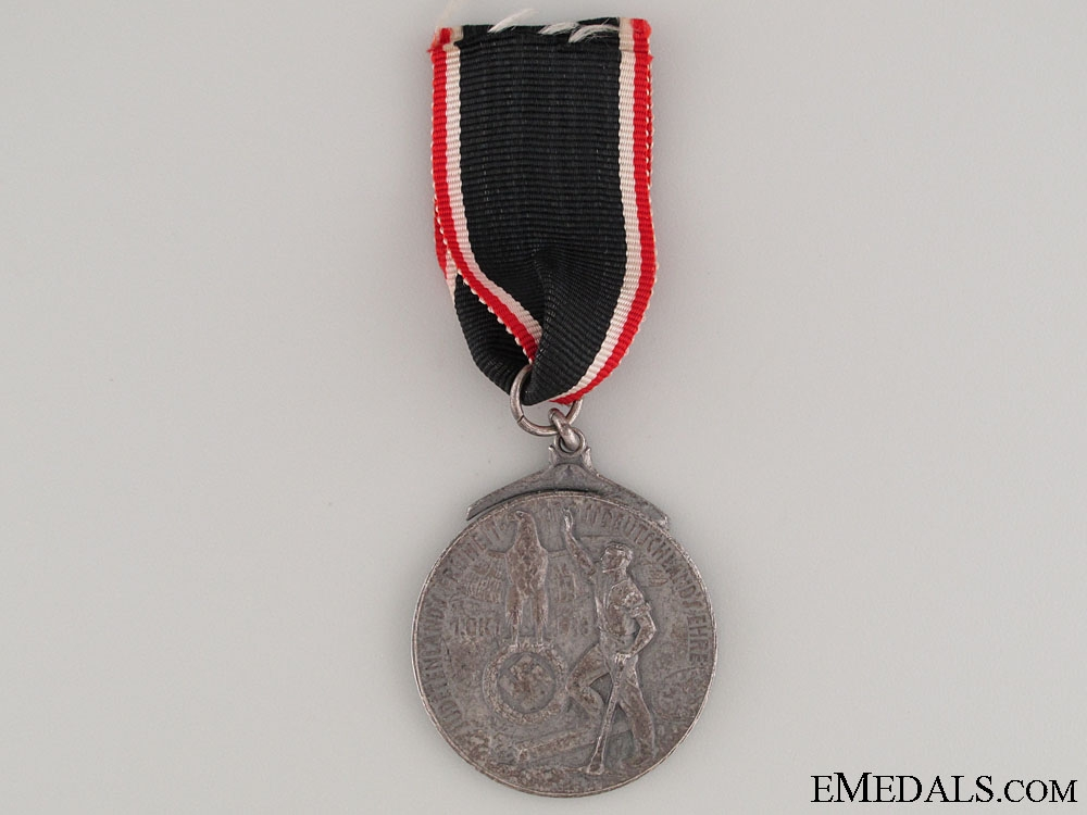 "eMedals-""Sudetenland Free"" Shooting Medal 1938"