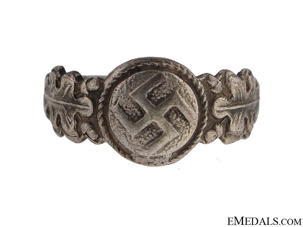 eMedals-Female Nazi-Sympathizer Ring