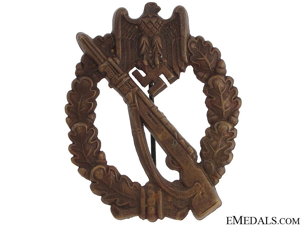 eMedals-Infantry Badge – Bronze Grade