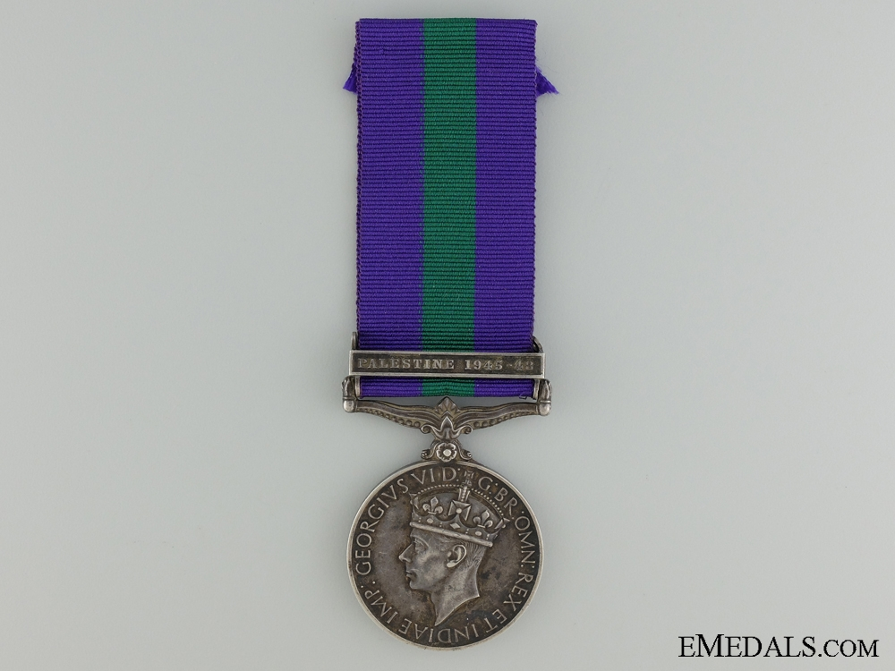 eMedals-A 1918-1962 General Service Medal to the Royal Artillery