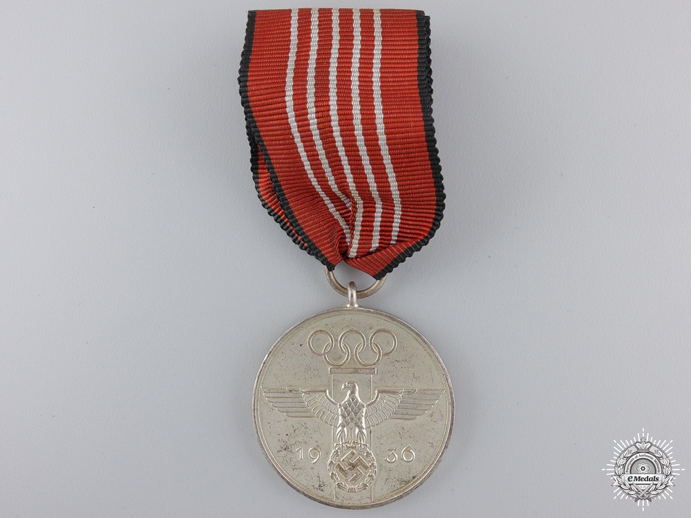 eMedals-A 1936 Berlin Summer Olympic Games Medal