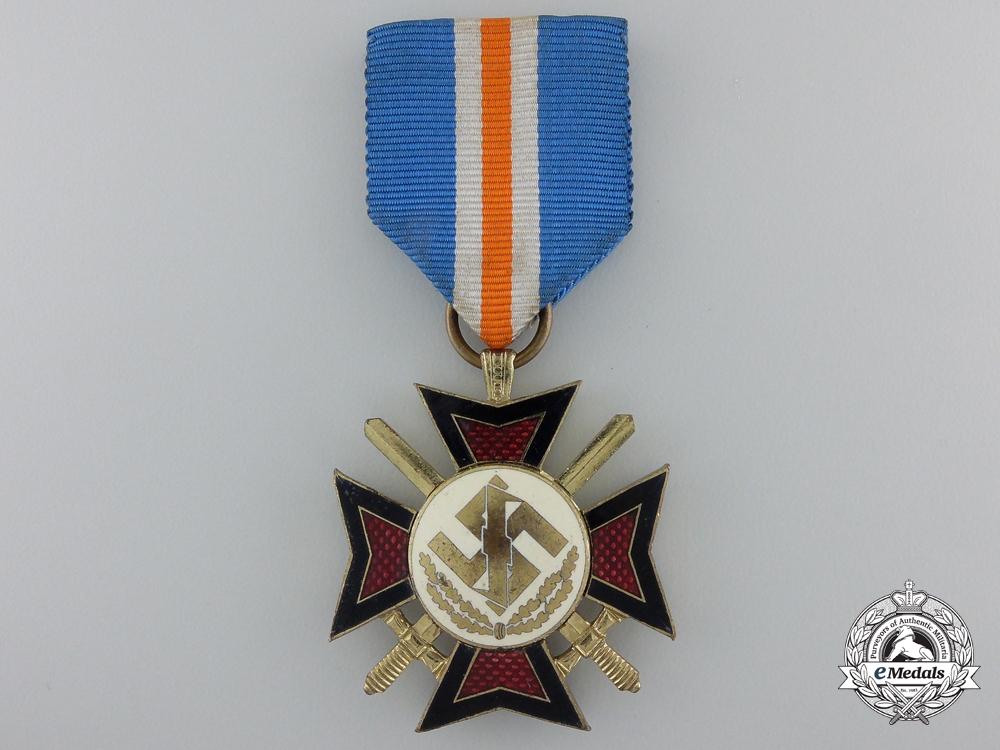 eMedals-A 1941 Dutch Mussert Cross