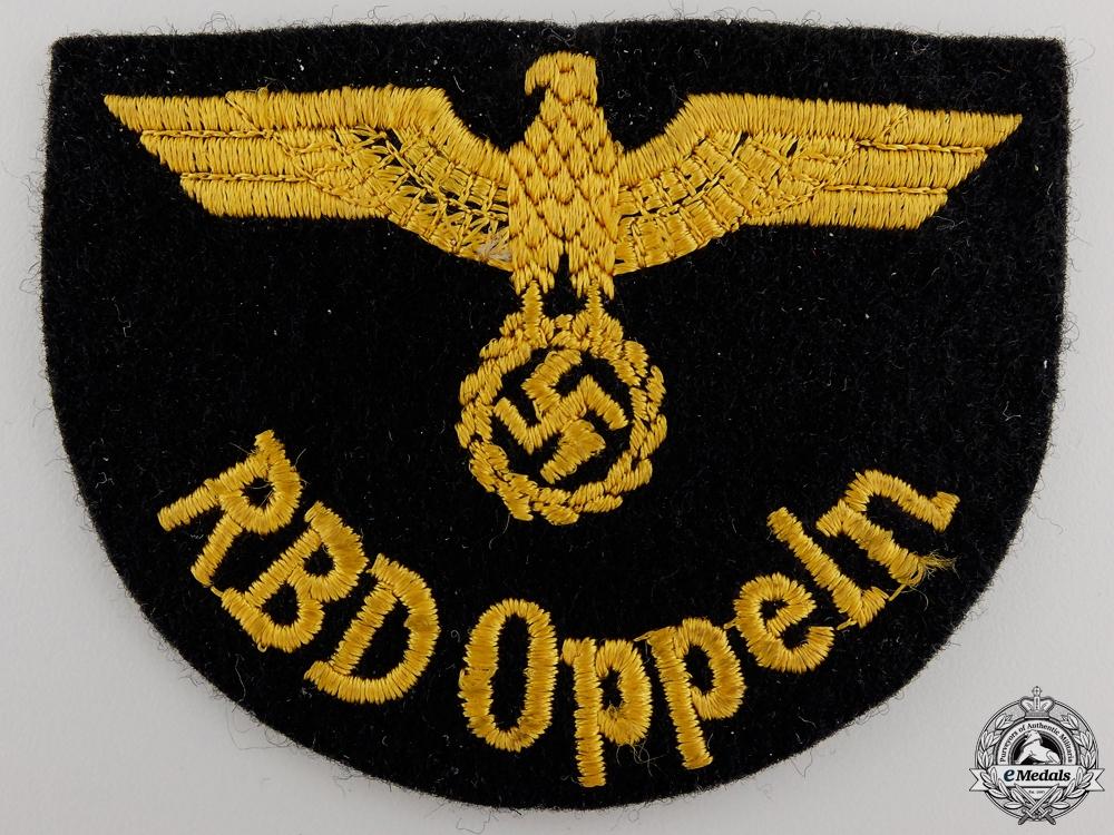 eMedals-A Deutche Reichsbahn Official's Sleeve Eagle