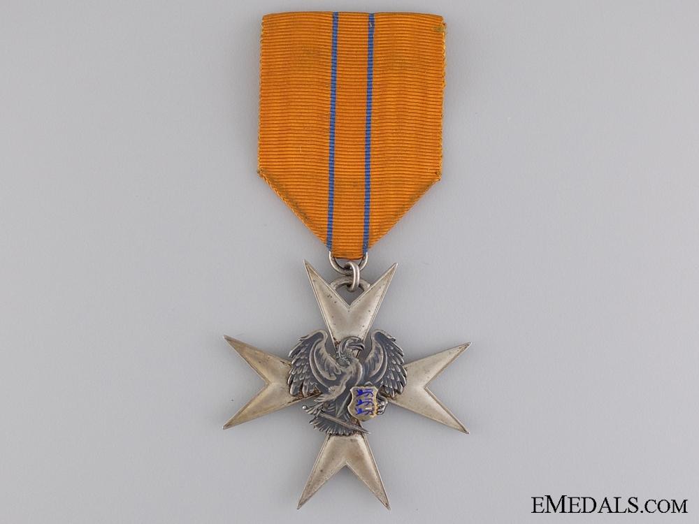 eMedals-A Estonian Order of the Eagle; Silver Merit Cross