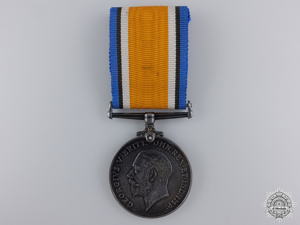 eMedals-A First War Medal to the Canadian Tank Corps