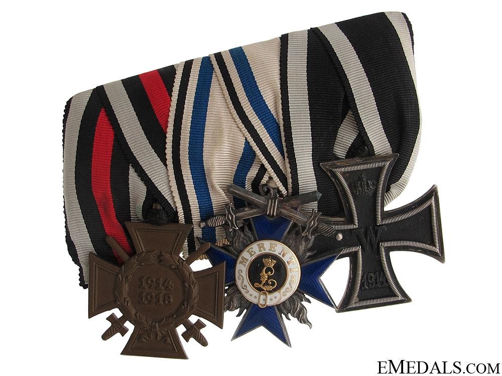 eMedals-A Frack-Medalbar with 3 Awards
