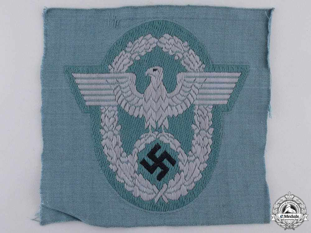 eMedals-A German Police Officers Sleeve Eagle