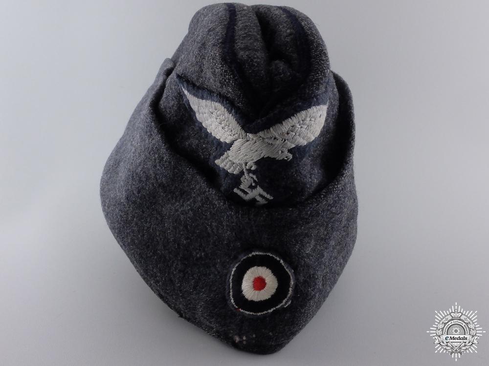 eMedals-A Luftwaffe NCO/EM's Overseas Cap (Fliegermütze)