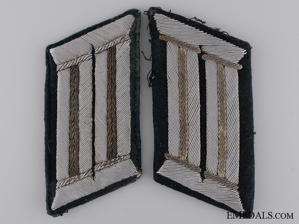 eMedals-A Pair of Army (Heer) Infantry Collar Tabs