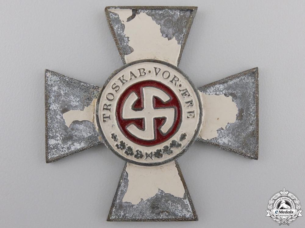 eMedals-A Rare & Recovered Schalburg Cross