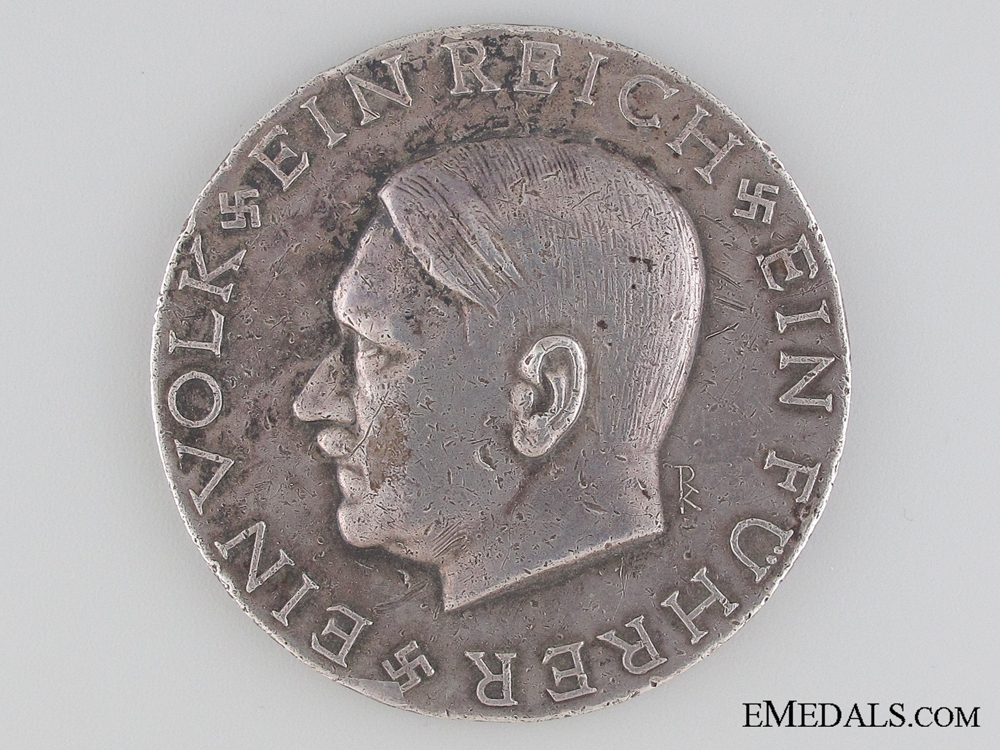 eMedals-A Rare Silver GrossDeutschland AH Medal