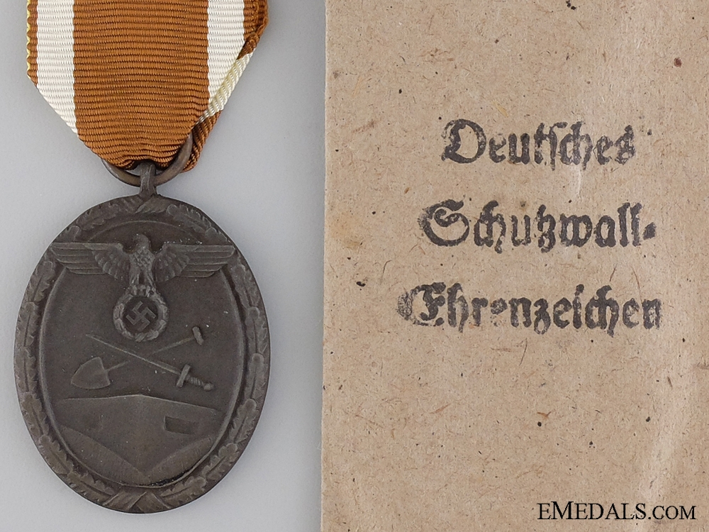 eMedals-A West Wall Campaign Medal by Carl Poellath