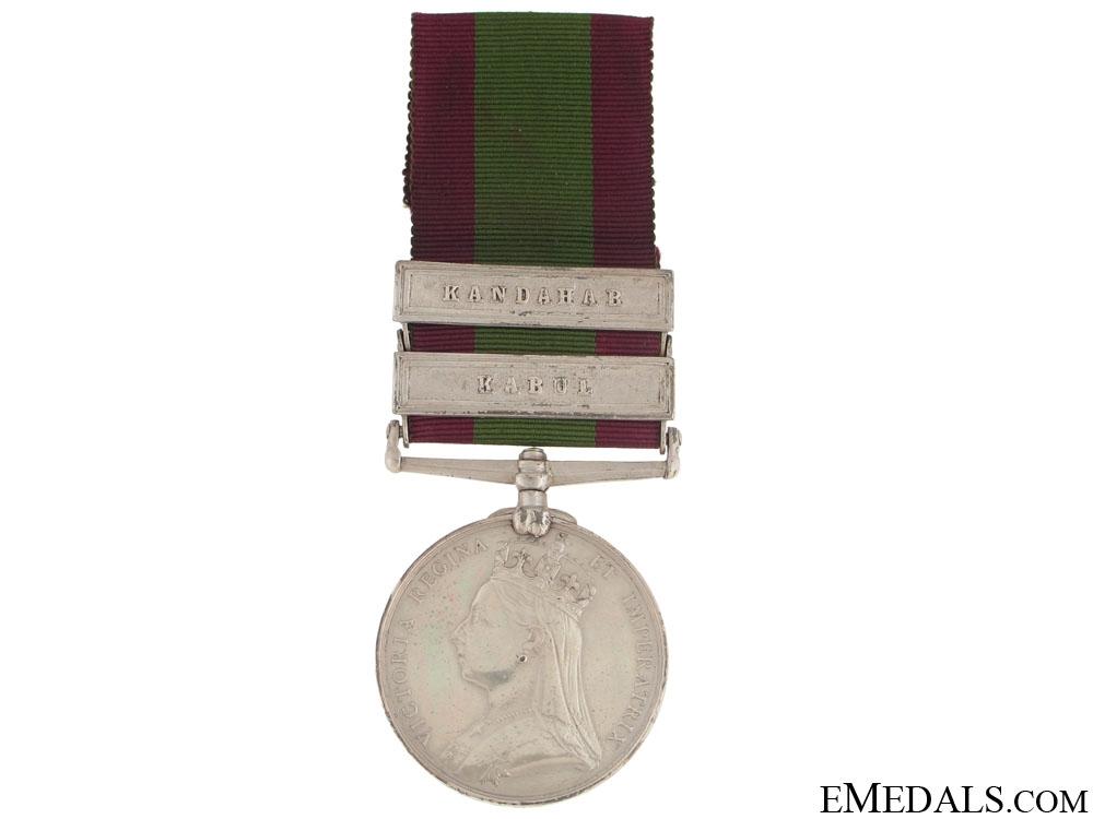 eMedals-Afghanistan Medal - 9th Lancers