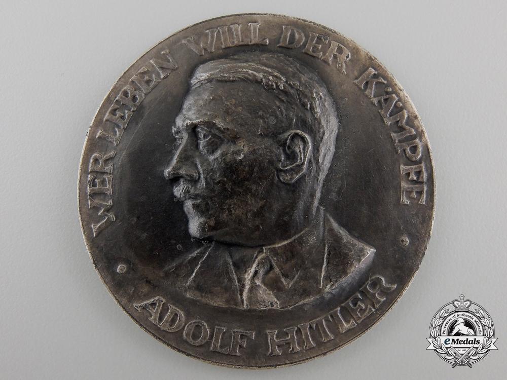 """eMedals-An A.H. Medal """"Wer leben will der kämpfe"""""""
