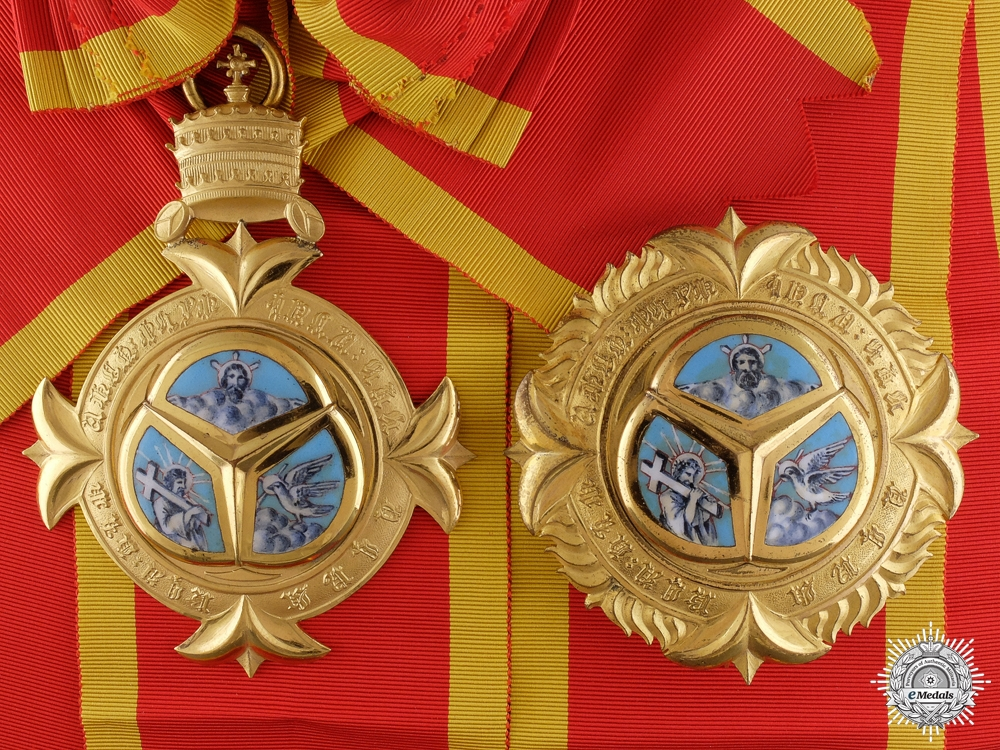 eMedals-An Ethiopian Order of the Trinity; Grand Cross