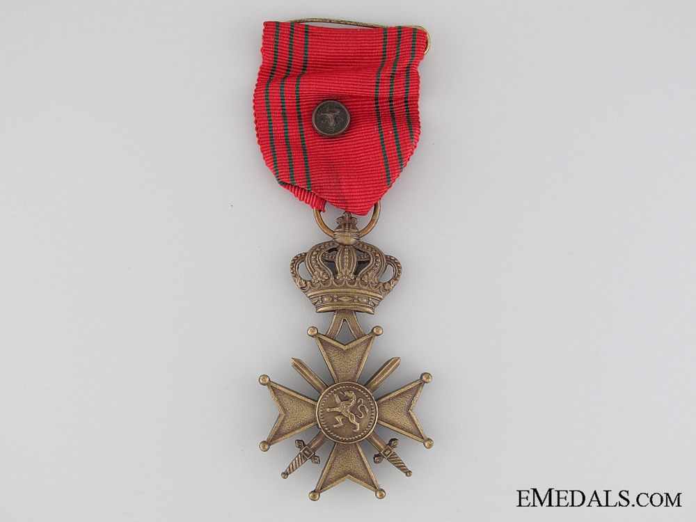 eMedals-Belgium WWII War Cross 1940