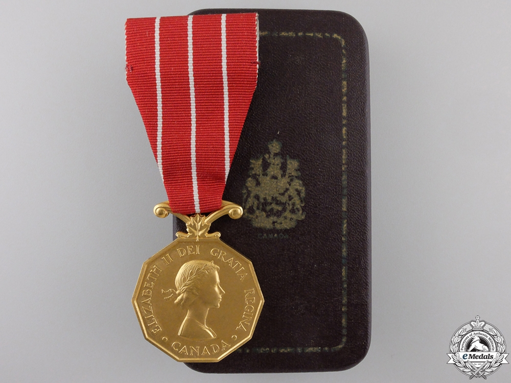 eMedals-Canadian Forces' Decoration to HMCS Iroquois