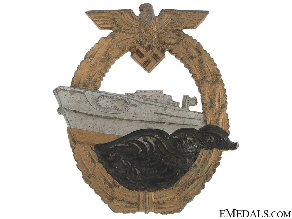 eMedals-E-Boat Badge – 2nd Pattern