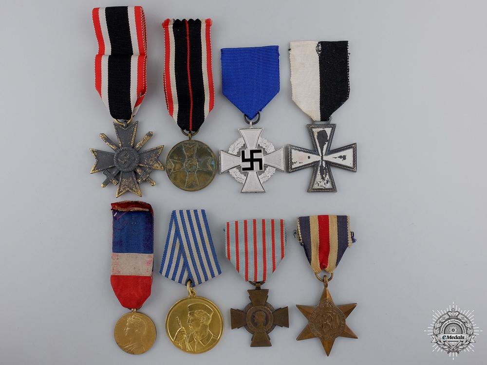 eMedals-Eight European Medals