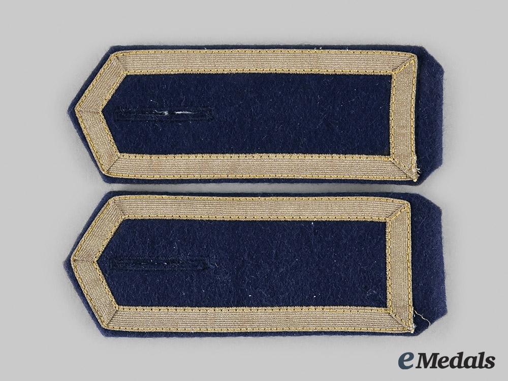 eMedals-Germany, Kriegsmarine. A Set of Kriegsmarine Enlisted Personnel Shoulder Boards