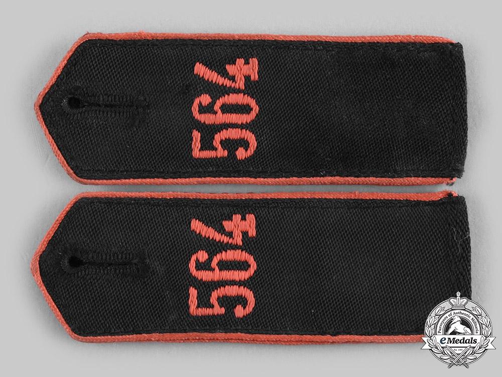 eMedals-Germany, HJ. A Set of HJ Bann 564 Enlisted Personnel Shoulder Straps