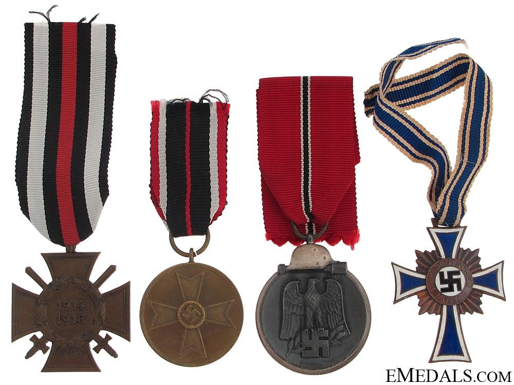 eMedals-Four Third Reich Period Awards