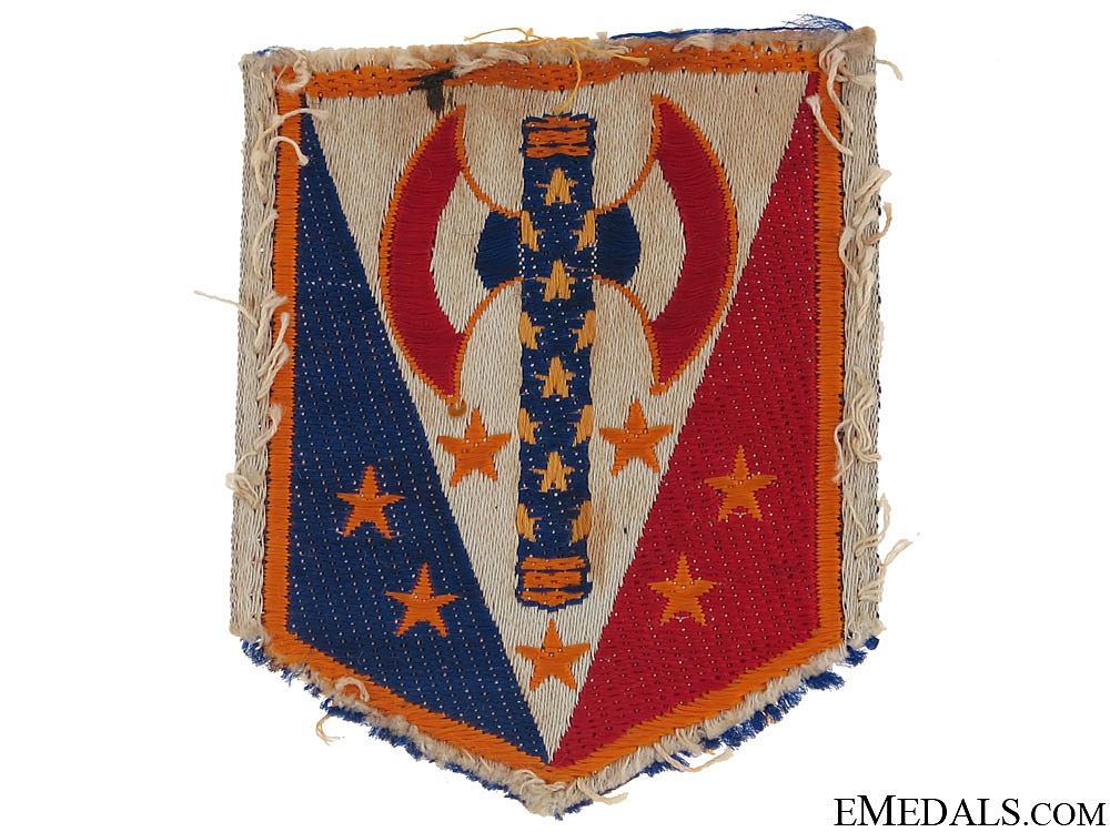 eMedals-French Vichy Fascist Cloth Badge c.1942