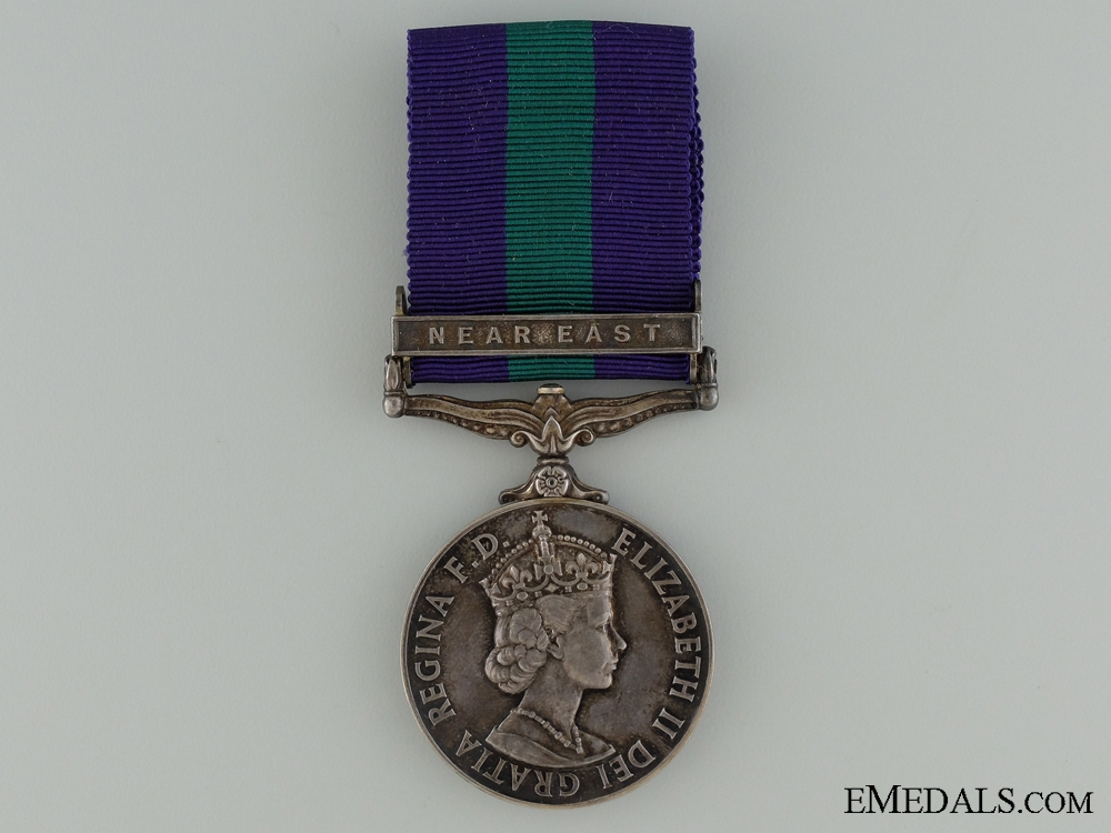 eMedals-General Service Medal 1918-1962 to the Royal Engineers