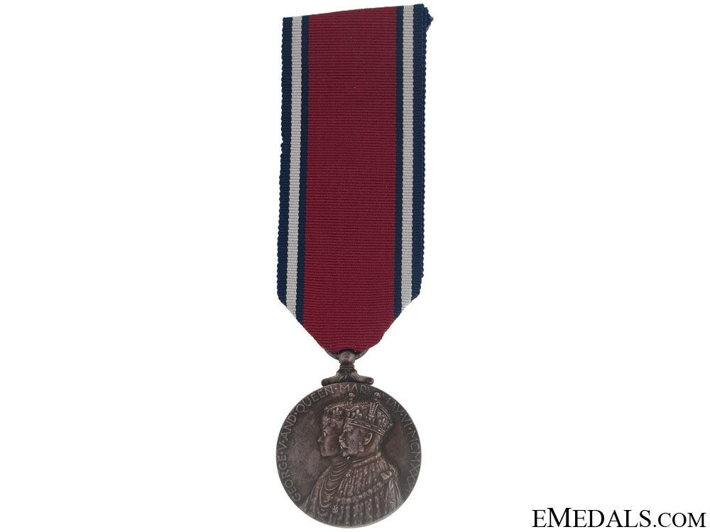 eMedals-George V and Queen Mary Silver Jubilee Medal 1935