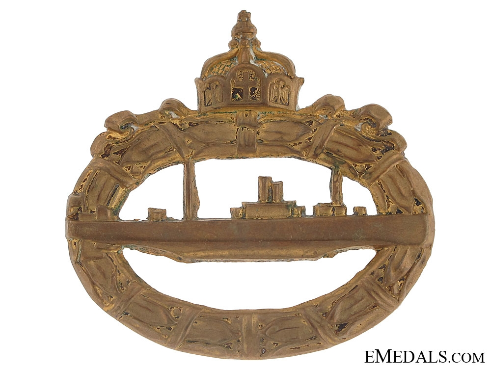 eMedals-Imperial Naval Submarine Badge