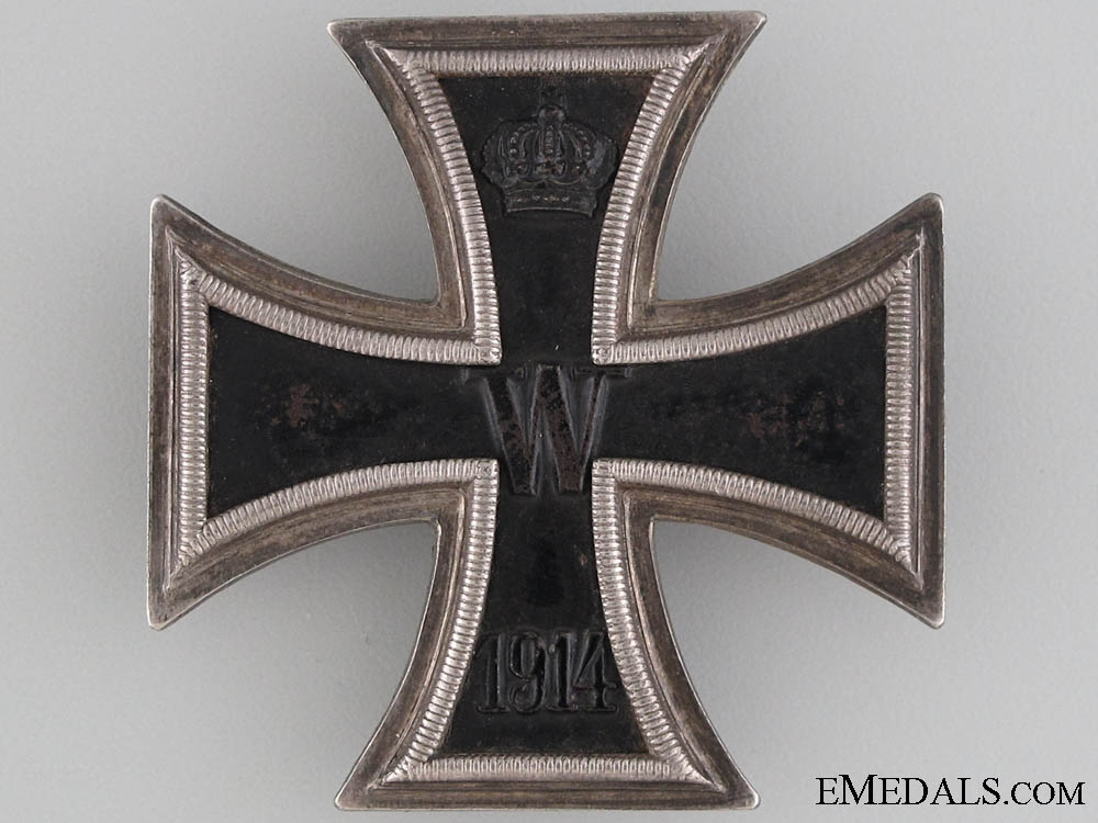 eMedals-Iron Cross First Class 1914 by Wagner
